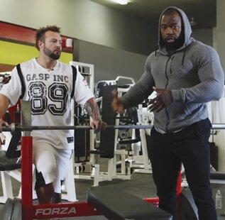 225 lbs for 210 Reps | Mike Rashid & Kris Gethin Iron Marathon